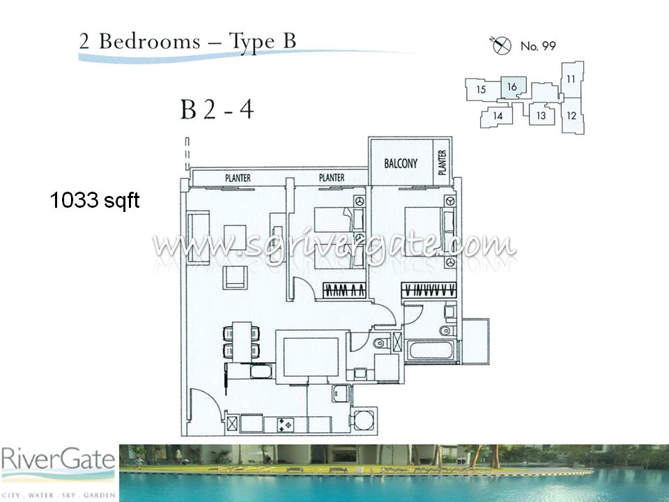 B2 4 Rivergate Singapore Condo Condominium Apartment